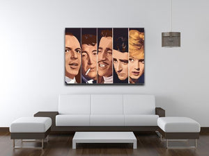 The Rat Pack Ocean's 11 Canvas Print & Poster - Canvas Art Rocks