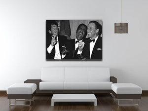 The Rat Pack Rocking With Laughter Canvas Print & Poster - US Canvas Art Rocks