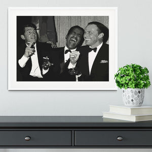 The Rat Pack Rocking With Laughter Framed Print - Canvas Art Rocks - 5