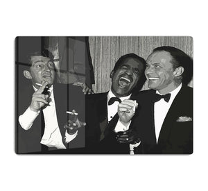 The Rat Pack Rocking With Laughter HD Metal Print