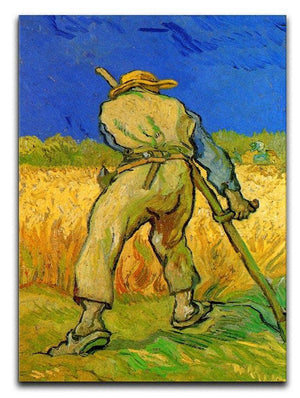 The Reaper by Van Gogh Canvas Print & Poster  - Canvas Art Rocks - 1