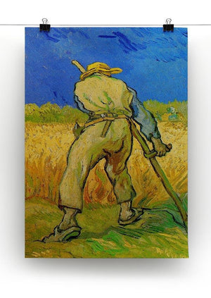 The Reaper by Van Gogh Canvas Print & Poster - Canvas Art Rocks - 2