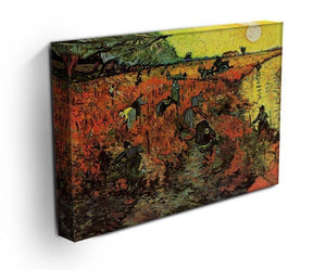 The Red Vineyard by Van Gogh Canvas Print & Poster - Canvas Art Rocks - 3