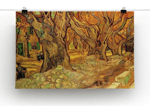 The Road Menders 2 by Van Gogh Canvas Print & Poster - Canvas Art Rocks - 2