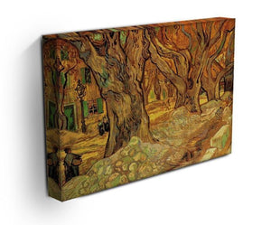 The Road Menders 2 by Van Gogh Canvas Print & Poster - Canvas Art Rocks - 3