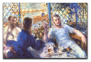 The Rowers Lunch by Renoir Canvas Print or Poster  - Canvas Art Rocks - 1
