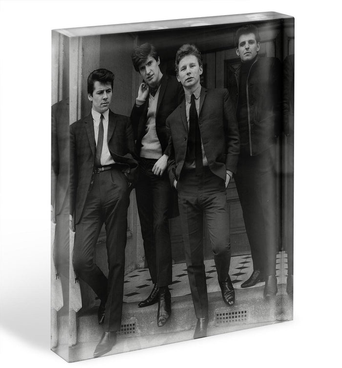 The Searchers in a doorway Acrylic Block