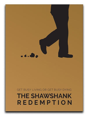 The Shawshank Redemption Minimal Movie Canvas Print or Poster  - Canvas Art Rocks - 1