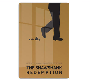 The Shawshank Redemption Minimal Movie HD Metal Print