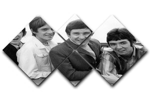 The Small Faces 4 Square Multi Panel Canvas - Canvas Art Rocks - 1