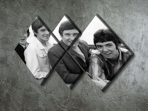 The Small Faces 4 Square Multi Panel Canvas - Canvas Art Rocks - 2