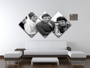 The Small Faces 4 Square Multi Panel Canvas - Canvas Art Rocks - 3