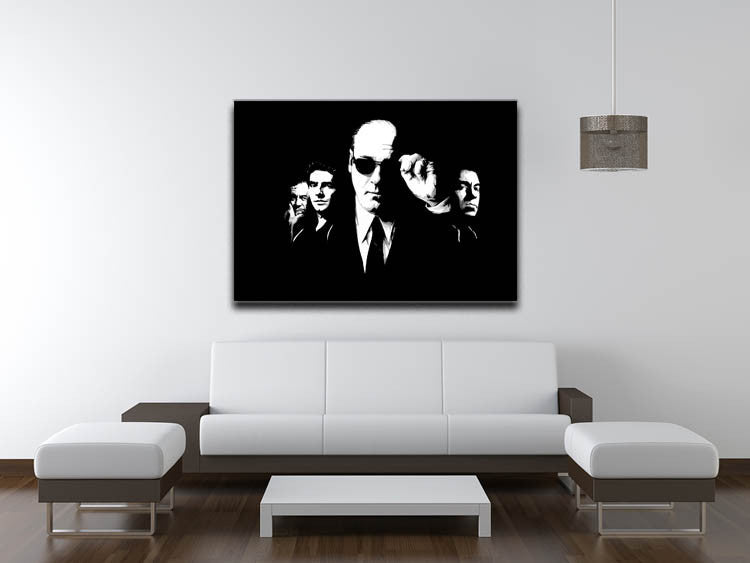 "The Sopranos ""Like Brothers"" Canvas Print & Poster - US Canvas Art Rocks"