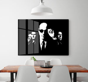 The Sopranos Like Brothers HD Metal Print