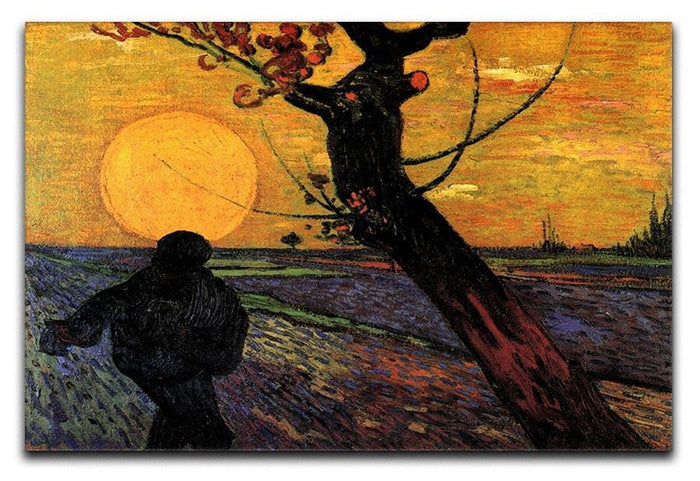 The Sower 2 by Van Gogh Canvas Print or Poster