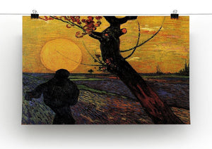 The Sower 2 by Van Gogh Canvas Print & Poster - Canvas Art Rocks - 2