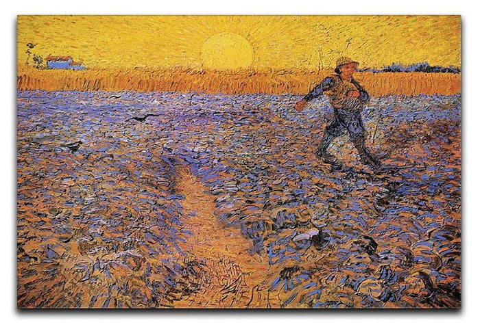 The Sower 3 by Van Gogh Canvas Print or Poster