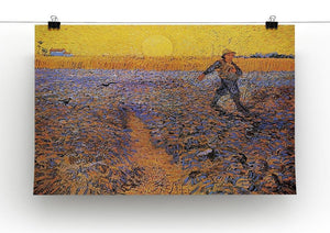 The Sower 3 by Van Gogh Canvas Print & Poster - Canvas Art Rocks - 2