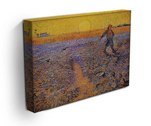The Sower 3 by Van Gogh Canvas Print & Poster - Canvas Art Rocks - 3