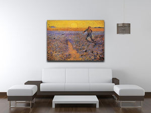 The Sower 3 by Van Gogh Canvas Print & Poster - Canvas Art Rocks - 4