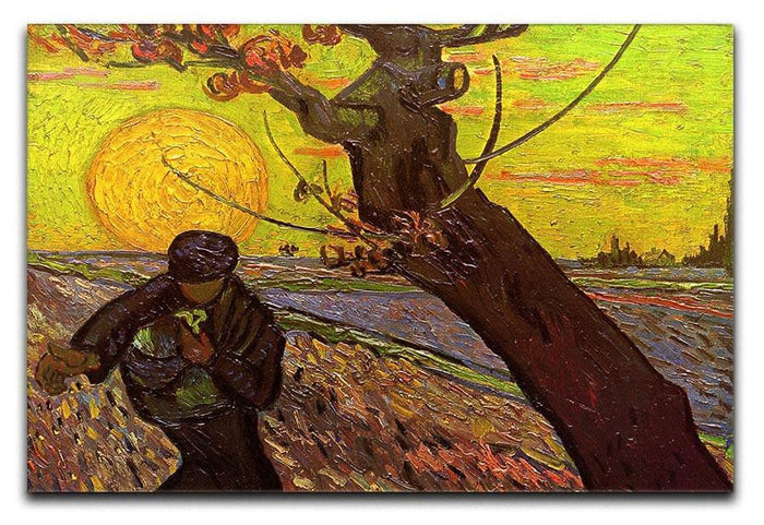 The Sower by Van Gogh Canvas Print or Poster