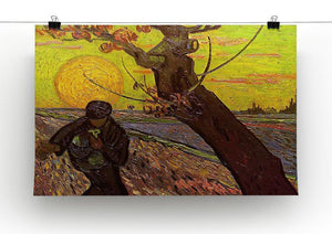 The Sower by Van Gogh Canvas Print & Poster - Canvas Art Rocks - 2