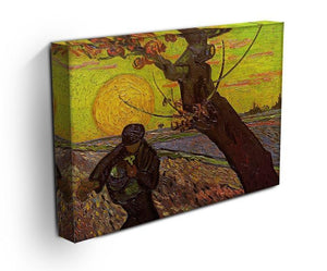 The Sower by Van Gogh Canvas Print & Poster - Canvas Art Rocks - 3