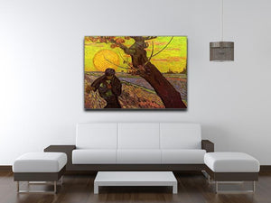 The Sower by Van Gogh Canvas Print & Poster - Canvas Art Rocks - 4