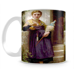 The Spinne By Bouguereau Mug - Canvas Art Rocks - 2