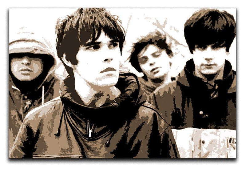 The Stone Roses Canvas Print or Poster  - Canvas Art Rocks - 1