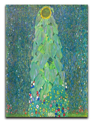 The Sunflower by Klimt Canvas Print or Poster  - Canvas Art Rocks - 1