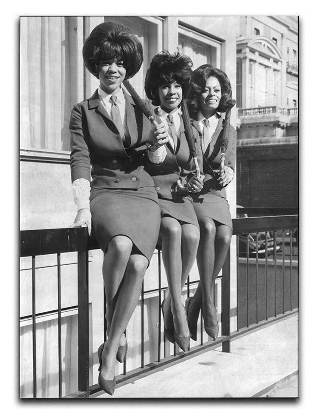 The Supremes in London Canvas Print or Poster  - Canvas Art Rocks - 1