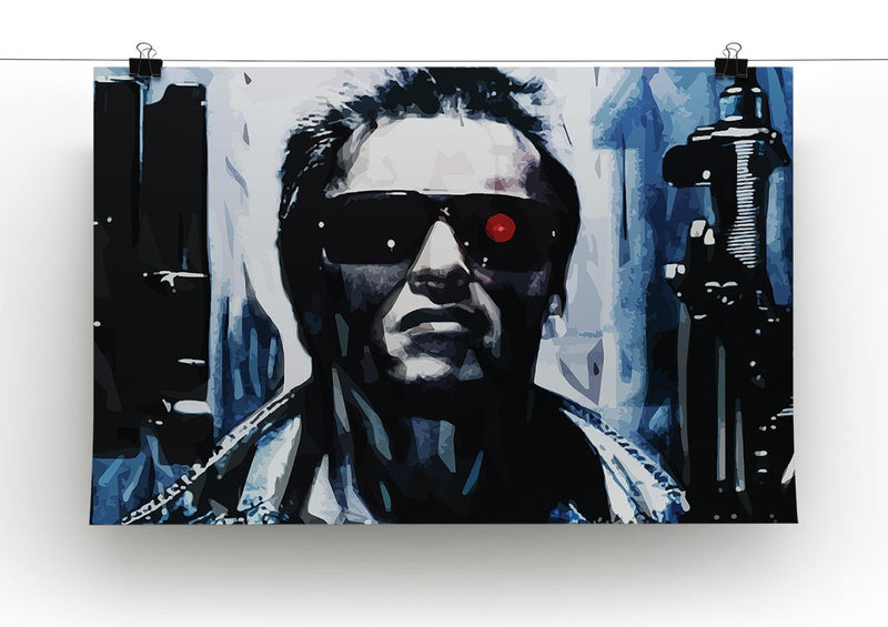 The Terminator Print - Canvas Art Rocks - 2