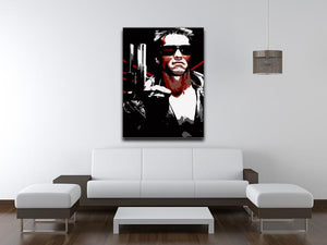 The Terminator Canvas Print or Poster - Canvas Art Rocks