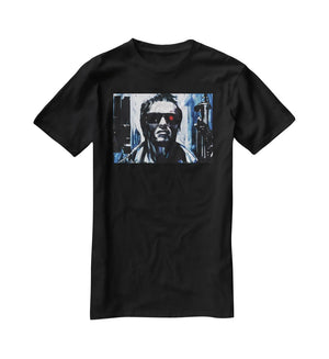 The Terminator Double Guns T-Shirt - Canvas Art Rocks - 1