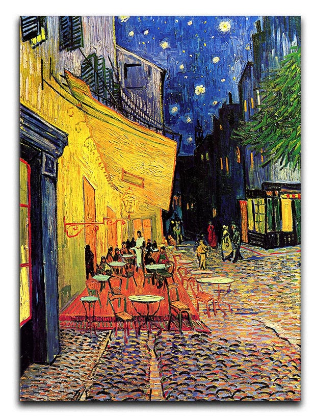 The Terrace Cafe by Van Gogh Canvas Print or Poster
