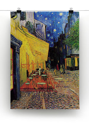 The Terrace Cafe by Van Gogh Canvas Print or Poster - Canvas Art Rocks - 2