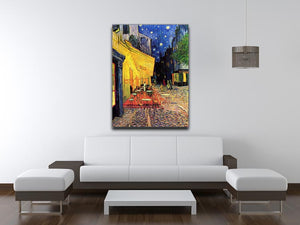 The Terrace Cafe by Van Gogh Canvas Print or Poster - Canvas Art Rocks - 4