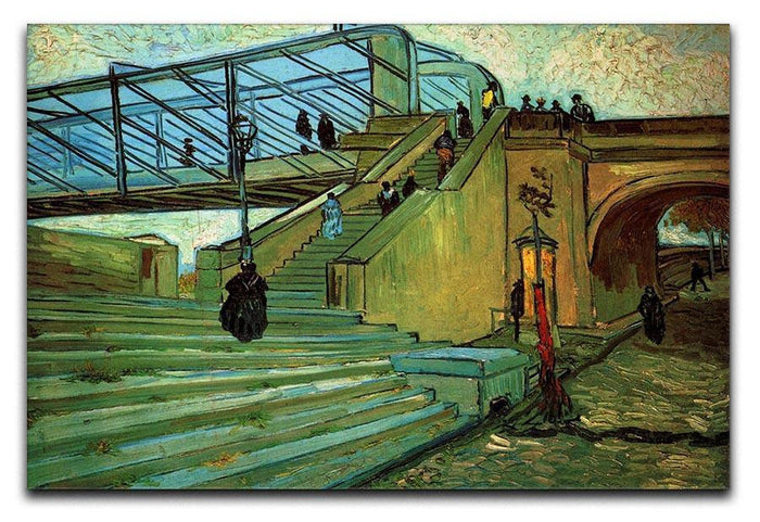The Trinquetaille Bridge by Van Gogh Canvas Print or Poster