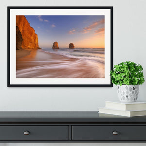The Twelve Apostles Framed Print - Canvas Art Rocks - 1