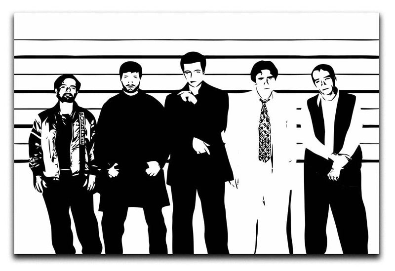 The Usual Suspect Print - Canvas Art Rocks - 1