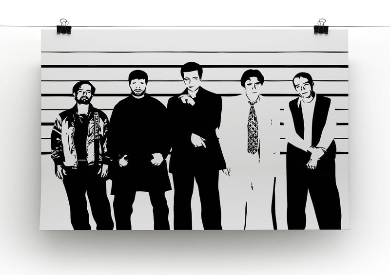 The Usual Suspect Print - Canvas Art Rocks - 2