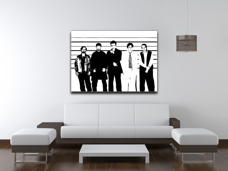 The Usual Suspect Print - Canvas Art Rocks - 4