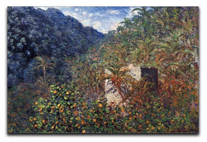 The Valley Sasso Bordighera by Monet Canvas Print & Poster  - Canvas Art Rocks - 1