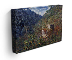 The Valley Sasso Bordighera by Monet Canvas Print & Poster - Canvas Art Rocks - 3