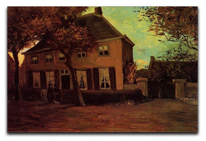 The Vicarage at Nuenen by Van Gogh Canvas Print & Poster  - Canvas Art Rocks - 1