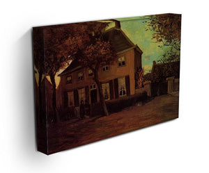 The Vicarage at Nuenen by Van Gogh Canvas Print & Poster - Canvas Art Rocks - 3