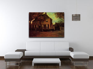 The Vicarage at Nuenen by Van Gogh Canvas Print & Poster - Canvas Art Rocks - 4