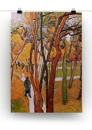 The Walk in Falling Leaves by Van Gogh Canvas Print & Poster - Canvas Art Rocks - 2