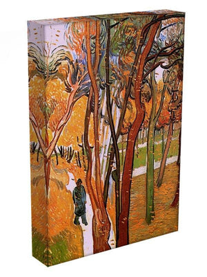 The Walk in Falling Leaves by Van Gogh Canvas Print & Poster - Canvas Art Rocks - 3